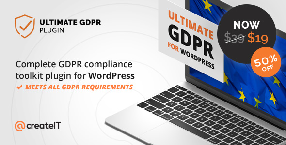 Ultimate GDPR v1.6.6 – Compliance Toolkit for WordPress