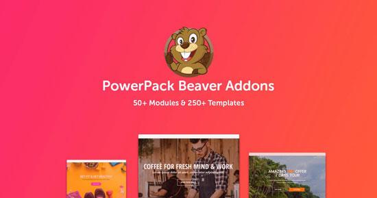 Beaver Builder PowerPack Addon v2.6.6