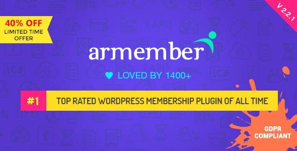 ARMember v2.2.1 - WordPress Membership Plugin