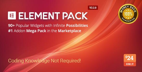 Element Pack v2.2.0 - Addon for Elementor Page Builder