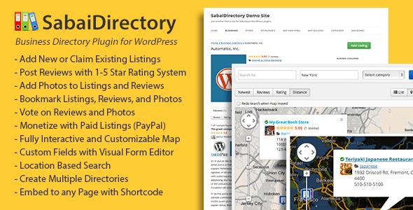 Sabai Directory for WordPress v1.4.3