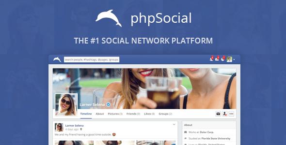 phpSocial v4.8.0 – Social Network Platform