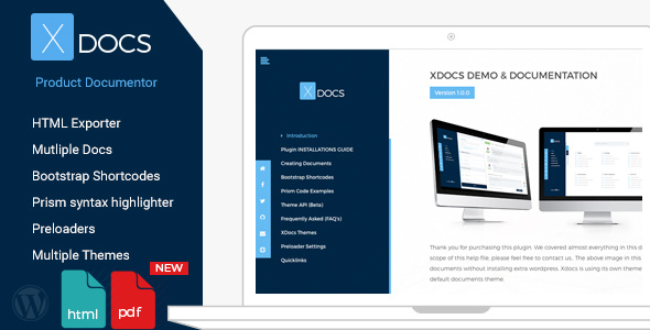 X Docs v1.0.6 - WordPress Product Documentation Creator