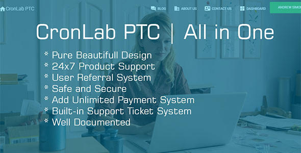 CronLab PTC v2.2 - All in One Script for PTC, HyIp, Crypto Trade & Money Investment