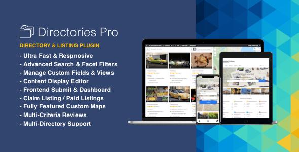 Directories Pro plugin for WordPress v1.2.6
