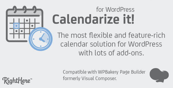 Calendarize it! for WordPress v4.8.5