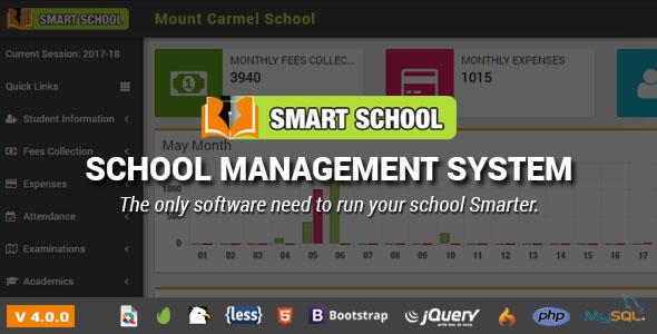 Smart School v4.0.0 - School Management System