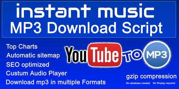 Instant Music Mp3 Download Script