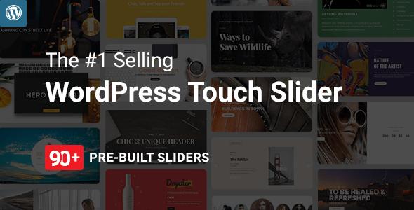 Master Slider v3.4.1.0 - WordPress Responsive Touch Slider