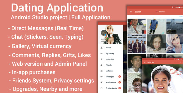Dating App v3.7 – Android
