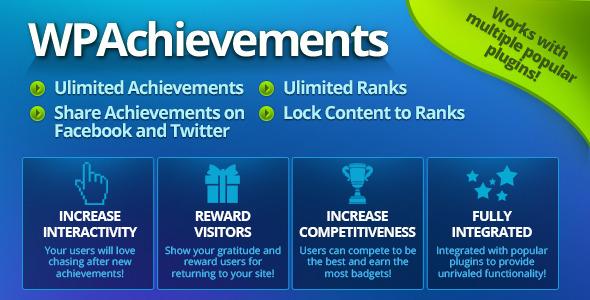 WPAchievements v8.12.1 – WordPress Achievements Plugin