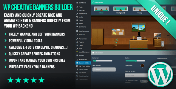 WP Creative Banners Builder v1.01