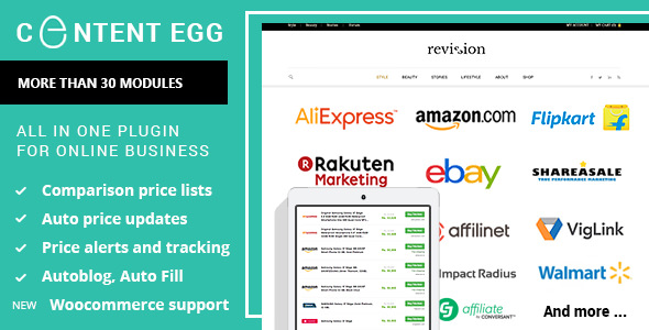 Content Egg v4.9.5 – all in one plugin for Affiliate, Price Comparison