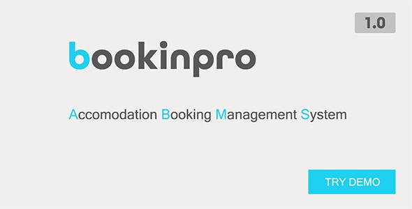 Bookinpro - Accomodation Booking Management System
