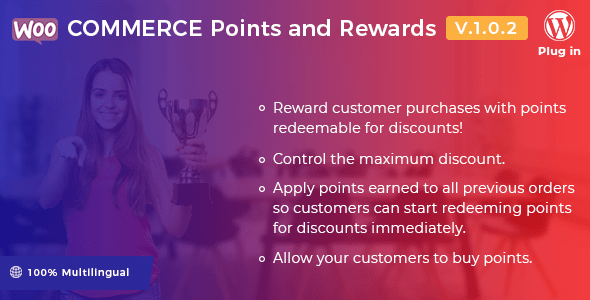 WooCommerce Points and Rewards v1.0.2 – WordPress Plugin