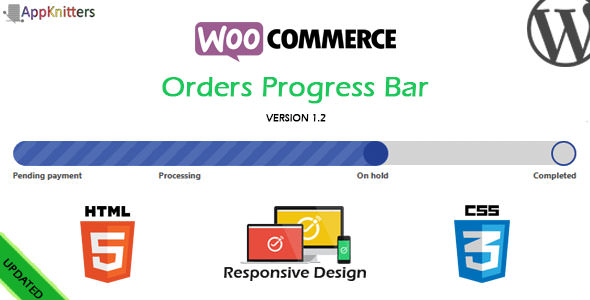 WooCommerce Orders Progress Bar v1.4.1