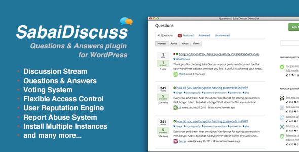 Sabai Discuss for WordPress v1.4.7