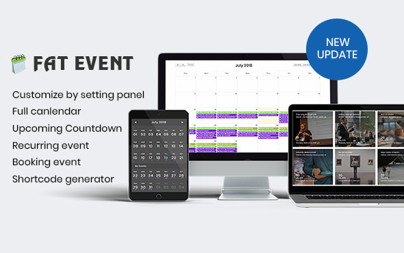 FAT Event v2.0 – WordPress Event and Calendar Booking