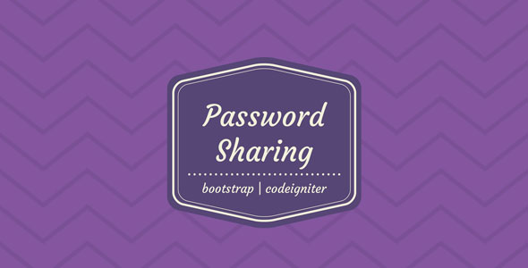 Password Sharing Management System