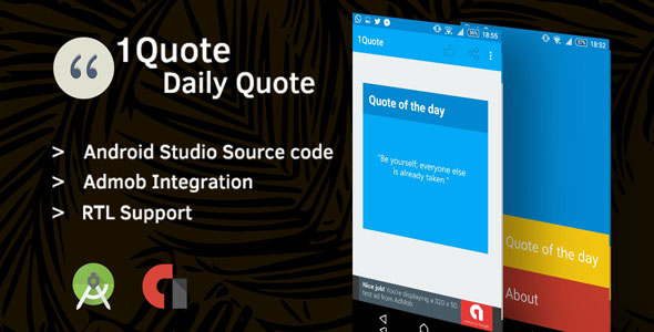 1Quote – Android App Source Code