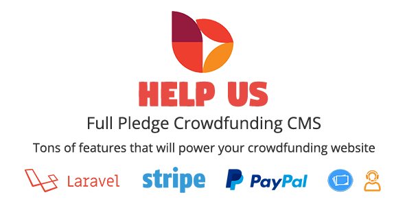 HelpUs v1.0.2 - Ultimate Crowdfunding Solution