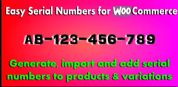 WooCommerce Serial Numbers v1.29 – WordPress Plugin