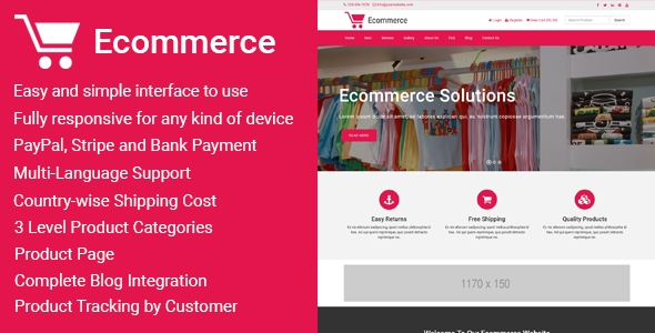 Ecommerce v1.2 – Responsive Ecommerce Business Management Script