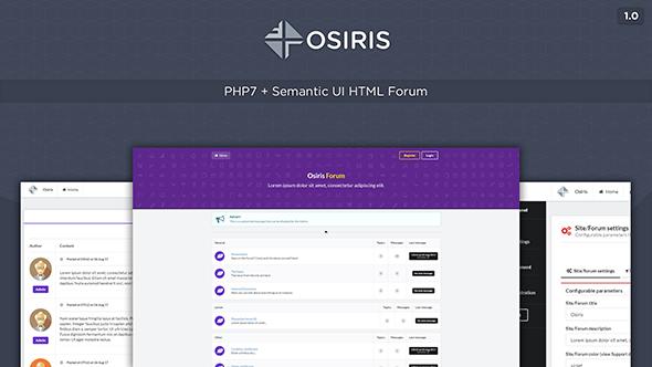Osiris v1.0 - Semantic Forum