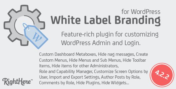 White Label Branding for WordPress v4.2.8