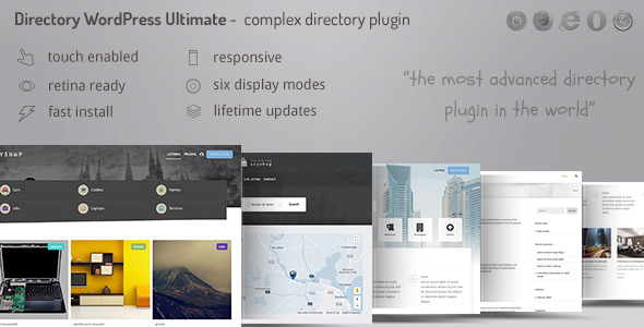 Directory ultimate PRO WordPress v1.0