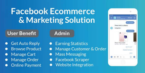 Facebook E-Commerce and Marketing Solution