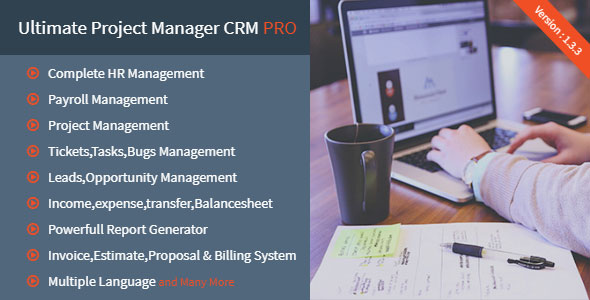 Ultimate Project Manager CRM PRO v1.3.3 – nulled