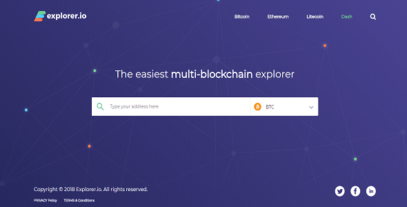 Explorer.IO (Multi-BlockChain Explorer)
