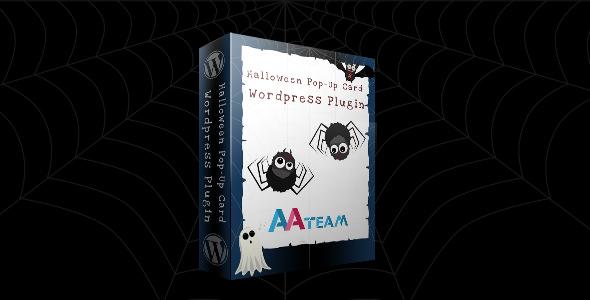 Halloween Pop-Up Card v1.1 – WordPress Plugin