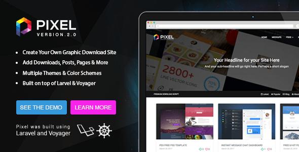 Pixel v2.0.5 – Premium Download Script