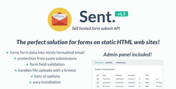Self hosted form submit API v1.3