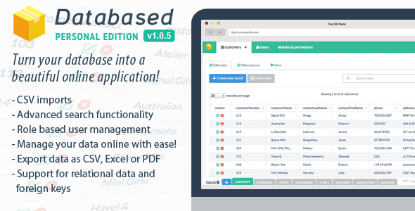Databased v1.0.6 - Personal Edition