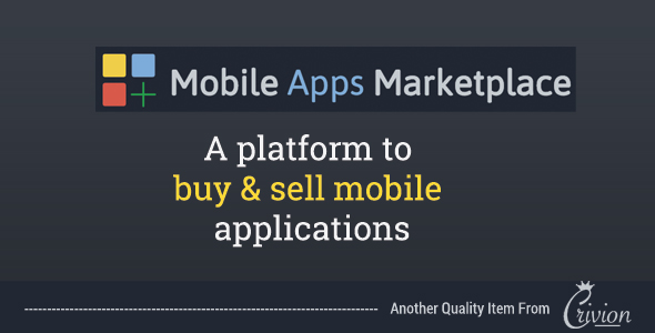 PHP Mobile Apps Marketplace Script