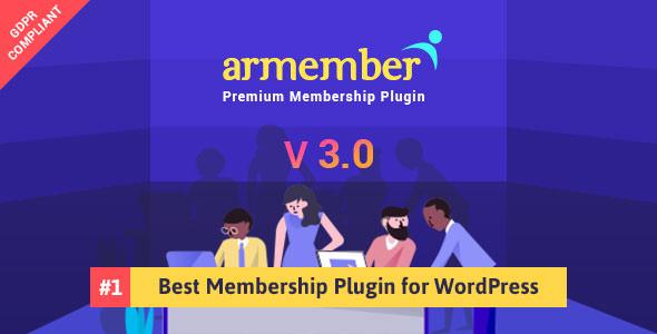 ARMember v3.0 – WordPress Membership Plugin