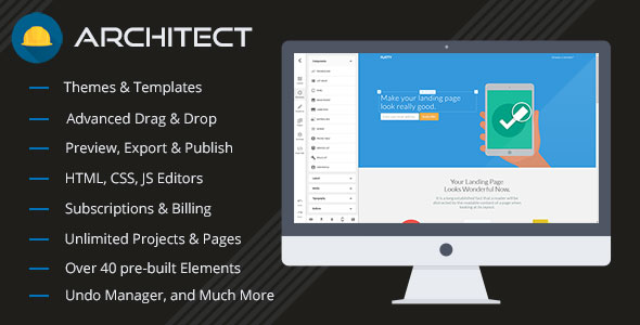 Architect v2.1.1 - HTML and Site Builder - nulled