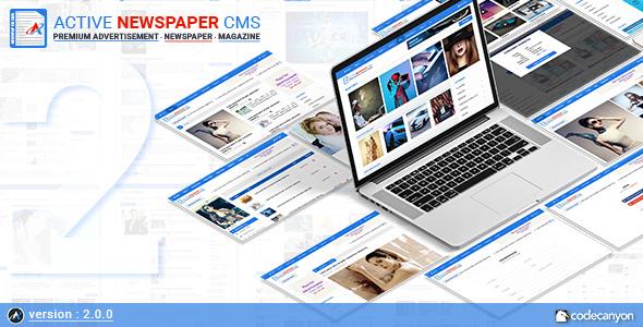 Active Newspaper CMS v2.0.0 – nulled