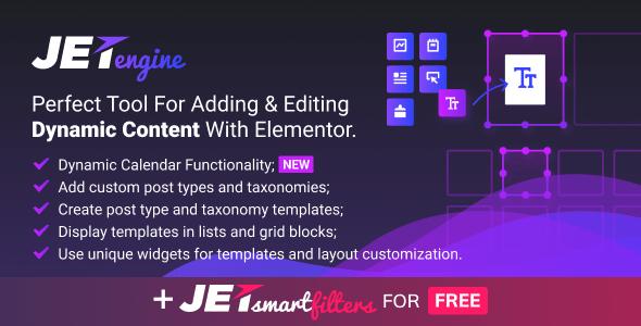 JetEngine v1.2.4 - Adding & Editing Dynamic Content