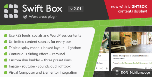 Swift Box v2.01 – WordPress Contents Slider and Viewer