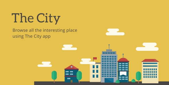 The City v6.3 – Place App with Backend