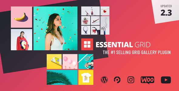 Essential Grid WordPress Plugin v2.3.2