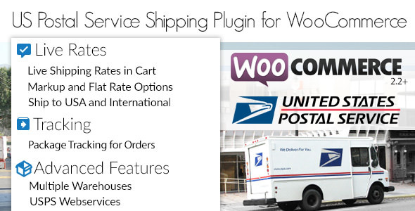 USPS Woocommerce Shipping Plugin v1.3.5