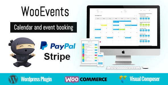 WooEvents v3.6 – Calendar and Event Booking