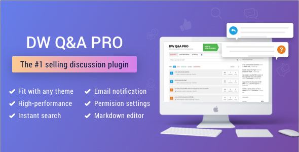 DW Question & Answer Pro v1.1.9 – WordPress Plugin