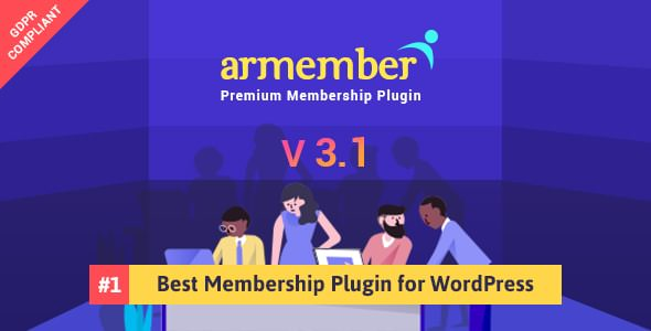 ARMember v3.1 – WordPress Membership Plugin