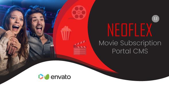 Neoflex v1.1 - Movie Subscription Portal Cms
